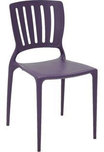 Cadeira Sofia Tramontina 92035080 Lilás