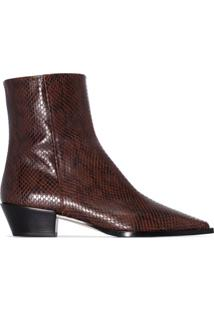 Aeyde Ankle Boot Ruby - Marrom