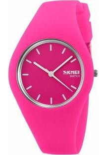 Relógio Skmei Analógico 9068 - Feminino-Pink