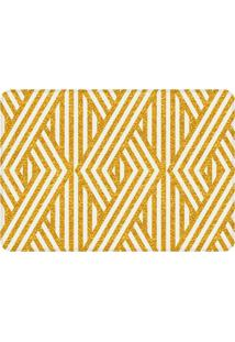 Tapete Love Decor De Sala Wevans Traços Amarelo