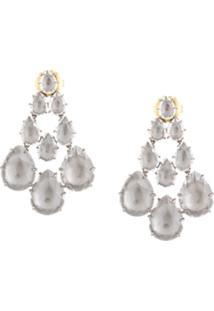 Larkspur & Hawk Chandelier Earrings - Prateado