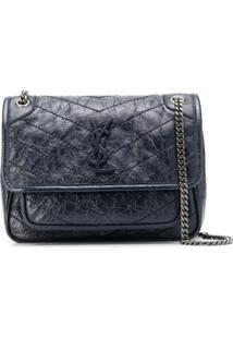 Saint Laurent Baby Niki Shoulder Bag - Azul