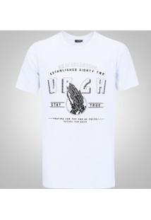 Camiseta Urgh Skull Hands - Masculina - Branco