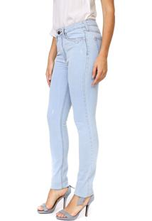 Calça Jeans Carmim Slim Luanda Azul