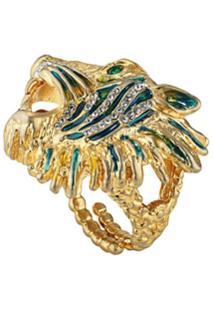 Gucci Anel Rajah - Dourado
