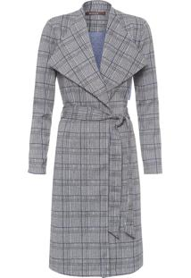 Trench Coat Feminino Cambridge - Cinza