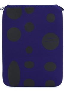 Comme Des Garçons Wallet Carteira Com Poás - Azul
