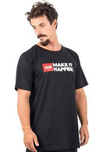 Camiseta Alfa Slogan - Masculino