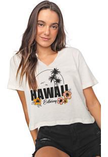 Blusa Billabong Hawaii Off-White