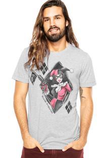 Camiseta Fashion Comics Suicide Attraction Cinza