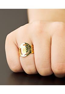 Pulseira Em Ouro Malha Figaro Italiana - Ps15273