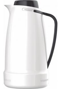 Garrafa Térmica De Mesa Termolar Dama Cor Branco 1L Ref 55685