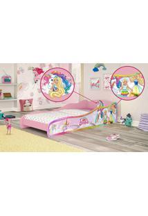 Mini-Cama Barbie Dreamtopia Pura Magia Rosa