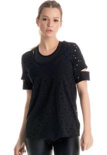 Camiseta Black Karina Bacchi