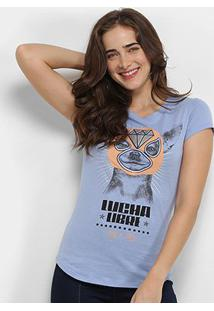 Camiseta Lez Lez Lucha Libre Feminina - Feminino