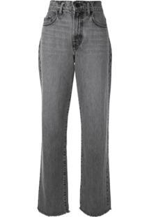 Nobody Denim Calça Jeans Cintura Alta - Cinza