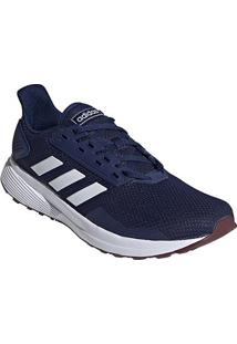 Tênis Adidas Duramo 9 Masculino - Masculino-Azul+Branco