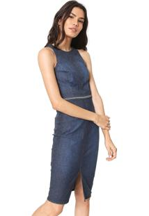 5d39f4f9a Vestido Colcci Jeans feminino   Starving