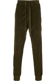 Tom Ford Drawstring Waist Trousers - Verde