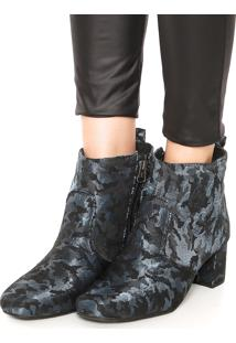 Bota Dafiti Shoes Militar Azul