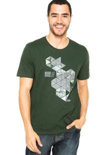 Camiseta M. Officer Geo Verde