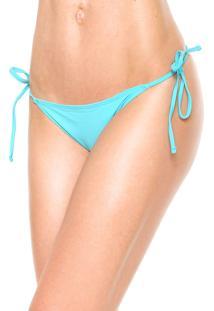 Calcinha Morena Rosa String Slim Azul