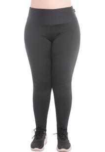 Calã§A Legging Plus Size Peluciada Tã©Rmica Suplex Dicors - Preto - Feminino - Dafiti