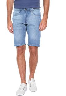 Bermuda Jeans Aramis Reta Azul