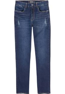 Calça Jeans Masculina Modelagem Slim