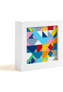 Quadro Decorativo Decohouse Moldura Art Colorido