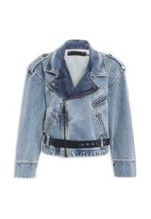 Jaqueta Feminina Jeans Perfecto - Azul