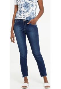Calça Jeans Push Up Skinny Feminina Marisa