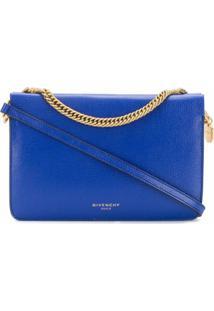 Givenchy Bolsa Tiracolo Bicolor - Azul