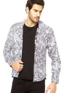 Camisa Casual Rockstter Cinza