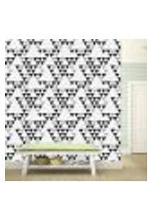 Papel De Parede Adesivo - Triângulos - Abstrato - 249Ppa