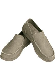 Sapato Crocs Santa Cruza - Masculino-Bege