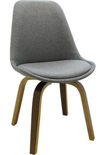 Cadeira Lis Tecido -Rivatti - Cinza