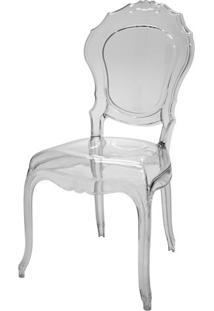 Cadeira Belle Epoque Policarbonato Cor Transparente - 21719 - Sun House