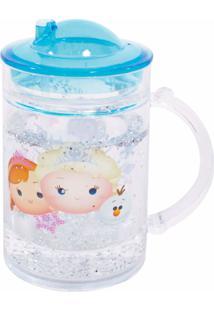 Caneca Minas De Presentes Frozen Tsum Tsum Transparente
