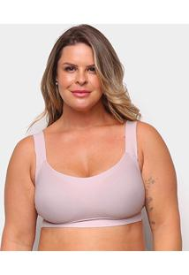 Top Liz Sutop Big Sizes 57357 Feminino - Feminino-Rosa