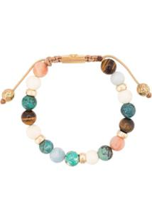 Nialaya Jewelry Faceted Stone Bracelet - Estampado