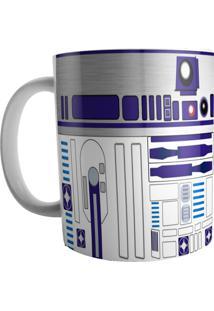 Caneca Live R2 D2 Branco