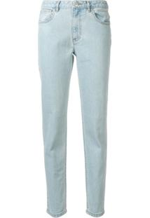 A.P.C. Calça Jeans Slim Fit - Azul