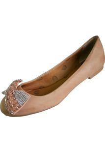 Sapatilha Scarpe Bico Redondo Areia