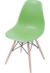 Cadeira Eames Dkr C/ Base De Madeira Or-1102B – Or Design - Verde