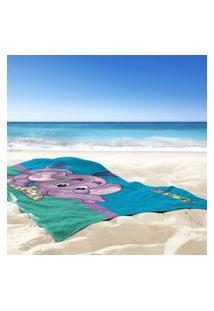 Toalha De Praia / Banho Floffy - Produto Licenciado Único