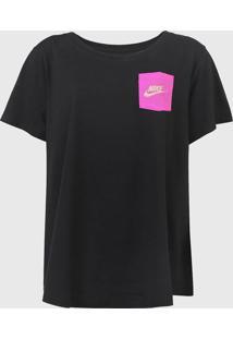 Camiseta Nike Sportswear Icon Clas Preta - Kanui