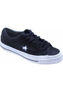 Tênis Converse All Star One Star Ox Preto Co02940002 - Kanui