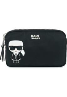 Karl Lagerfeld Clutch 'Ikonik' - Preto