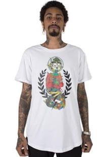 Camiseta Longline Stoned Missionary Of Ilusion Masculina - Masculino
